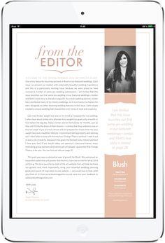 BLUSH MAGAZINE Tablet Magazine. More on www.magpla.net MagPlanet #TabletMagazine #DigitalMag