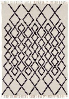 Teppich Wohnzimmer Orient Carpet Klassisches Design HACKNEY KELIM DIAMOND Wolle Cgi