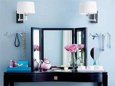 vanity...recreate something similar on my dresser top