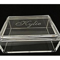 Personalized Acrylic Jewelry Box