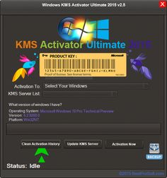 KMS Activator Ultimate 2015 v2.5 for Windows Activation Free