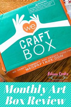 We Craft Box Review - Aileen Cooks
