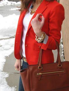 Lilly Style: that bright blazer