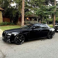 Black Rolls Royce