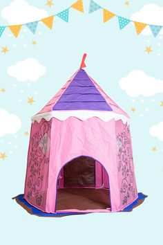 Escape into a world of magic in the Bazoongi Fairy Princess Castle. Your little ones will step into this fantastical play tent and emerge in an enchanted forest full of mysticism and wonder. Encourage them to chase their imagination into a world of make believe.  Locations: AUSTRALIA