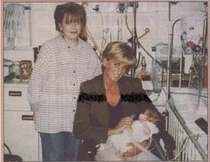 Princess Diana in the year of her death, 1997, with a struggling baby. Enjoy RUSHWORLD boards, DIANA PRINCESS OF WALES EXTENSIVE PHOTO ARCHIVE, UNPREDICTABLE WOMEN HAUTE COUTURE and LULU'S FUNHOUSE. Follow RUSHWORLD! We're on the hunt for everything you'll love!
