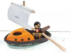 Buy our Pirate Boat by Plan Toys available now at Mulberry Bush. Buried Treasure, Treasure Boxes, Pirate Treasure, Mulberry Bush, Gun Turret, Plan Toys, Water Play, Pirate Theme, Outdoor Toys