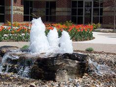 Exterior Design, Astonishing Pondless Water Fountains: Amusing Pondless Water Fountains