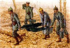 Pinturas de la Gran Guerra 1914-1918