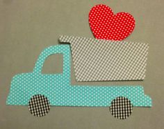 DIY Iron Or Sew On Fabric Applique Boys by MainStreetStitches, $3.50