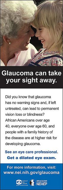 January is Glaucoma Awareness Month - Learn more at www.nei.nih.gov/glaucoma (scheduled via http://www.tailwindapp.com?utm_source=pinterest&utm_medium=twpin&utm_content=post497123&utm_campaign=scheduler_attribution)