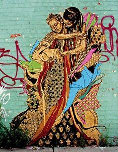 Not bad for graffiti.Not bad for graffiti.Not bad for graffiti.Not bad for graffiti.Not bad for graffiti.Not bad for graffiti. Graffiti Artwork, Art Mural, Street Art Graffiti, Murals, Graffiti Artists, Gustav Klimt, Street Art News, Street Artists, Art Du Monde
