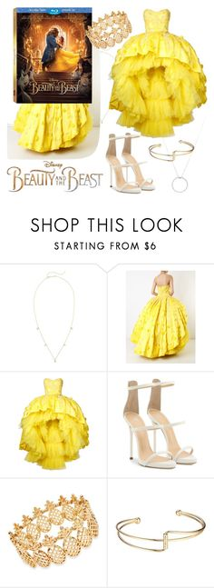"""Tale As Old As Time!"" by qwertyuiop-sparta ❤ liked on Polyvore featuring Disney, ZoÃ« Chicco, Mikael D, Giuseppe Zanotti, INC International Concepts, Roberto Coin, BeautyandtheBeast and contestentry"