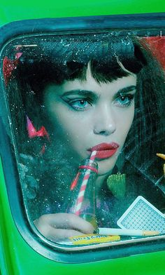 Fashion Photography Editorials  by Photographer Miles Aldridge