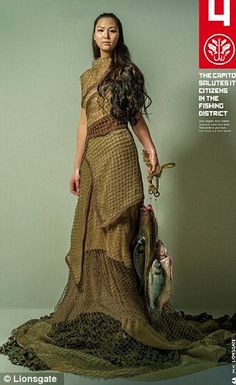 District 4: Fishing in The Hunger Games: Mockingjay - Part 1