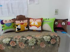 Handmade Toy Story Party Favor Gift Pillow by RbitencourtUSA, $129.95