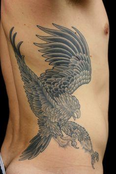 tattoo eagle japanese - Google Search