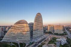Patrik Schumacher, Zaha Hadid Architects, Virgile Simon Bertrand, Cristiano Bianchi · Wangjing SOHO