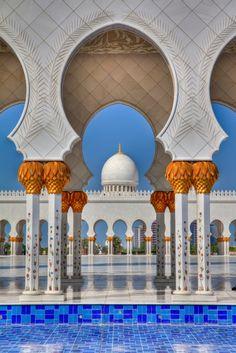 Sheikh Zayed Grand Mosque- Abu Dhabi