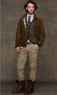 Fall Layering - Ralph Lauren Style Guide