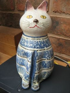 POTTERY CAT, MADE IN ITALY