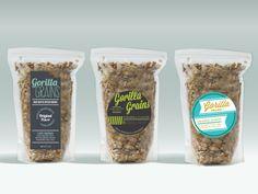 Gorilla Grains Packaging Exploration