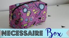 DIY | Costurinhas - Necessaire Box ( Passo a Passo ) - Bia Feltz