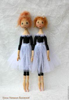Купить Девочки.... такие девочки.. - чёрно-белый, балет, балерина, балеринка, кукла балерина, хлопок