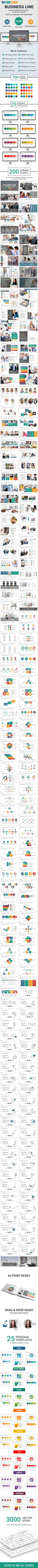 Business Line PowerPoint Presentation Template. Download here: https://graphicriver.net/item/business-line-powerpoint-presentation-template/17676417?ref=ksioks