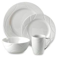 Lenox® Vibe Dinnerware 4-Piece Place Setting - BedBathandBeyond.com I've always loved this pattern especially the serveware