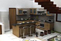 Kitchen View of the Villa from the Best Real Estate Developers in Bangalore  luxurious villas near sarjapur road | premium flats in singasandra | luxurious flats in singasandra | luxury flats off hosur road luxury flats in hosur road