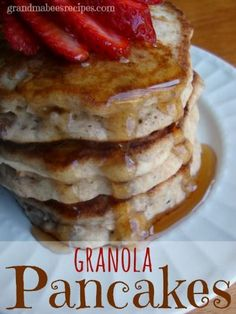 Pancakes and Fritters on Pinterest | Pancakes, Banana Nut Pancakes and ...