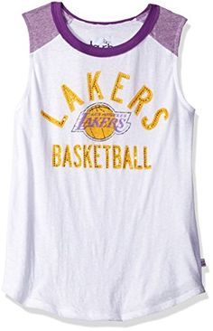 Touch by Alyssa Milano NBA Los Angeles Lakers Women's Audible Tank