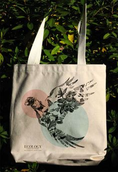 Eco Bag Bird Series on Behance