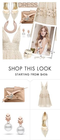 """""""So Pretty: Dreamy Dresses"""" by goreti ❤ liked on Polyvore featuring N°21, Carolina Herrera, Escalier, Le Silla, Chanel, polyvoreeditorial and dreamydresses"""