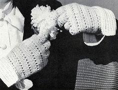 Crocheted Sport Glove Pattern #63