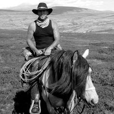 Cowboy in Rondane - with Sulseter Rideleir: www.sulseter.no