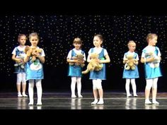 tance przedszkolaków - YouTube