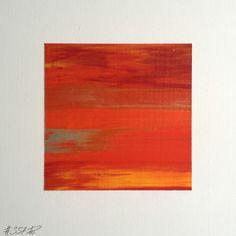#357   square abstract painting (original)   acrylic on white board   size 9 cm x 9 cm   boardsize 15 cm x 15 cm   https://www.etsy.com/shop/quadrART