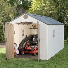 Lifetime Brighton 8' x 15' Storage Shed