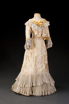 Party Dress   c.1900  From Czech Design