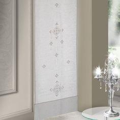 Crochet Curtains, Hardanger Embroidery, Bargello, Window Coverings, Window Curtains, Interior Design, Handmade, Home Decor, Angela