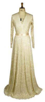 Lace A line Maxi Dress