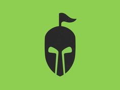 Golf knight logo mark by Sergey Yakovenko
