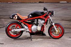 suzuki bandit cafe racer | Bandit Cafe Racer Paration Tuning Page