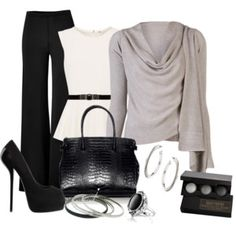 This might be good for my short waist, if the peplum fit right.  Love the sweater.