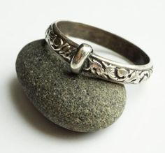 THE Original Filigree Thistle Pattern Ring © - Sterling Silver - Celtic - All Sizes - Sporran Key - Engraved - Blacksmith - Stacking Outlander Jewelry, Outlander Gifts, Outlander Casting, Outlander Series, Outlander Quotes, Outlander Blog, Outlander Tattoos, Outlander Characters, Diana Gabaldon