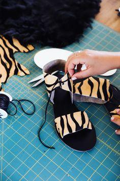 DIY your own sandals via Skillshare!