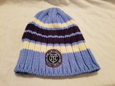 Adidas MLS NYCFC Adult Blue Winter Hat One Size Fits All #Adidas