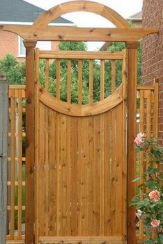 find this pin and more on large wooden gates